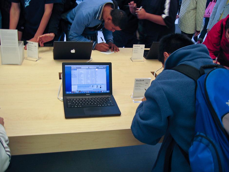 Ignoring computers