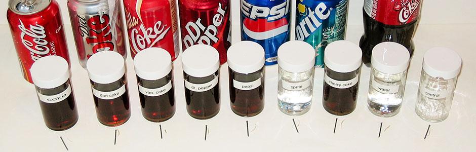 Coke experiment equipment