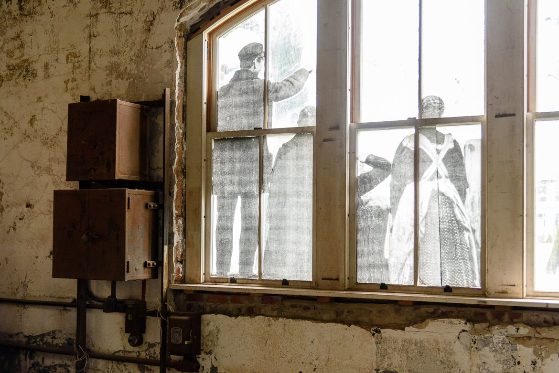 Laundry room windows