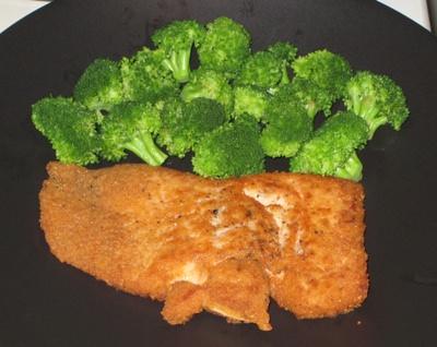 Parmesan Encrusted Salmon