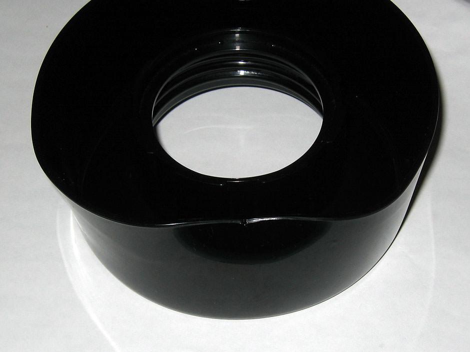 Melted blender collar