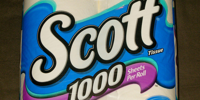 Scott Tissue package